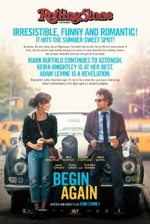 Begin Again dvd cover