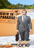 Death in Paradise: Season 1 dvd cover