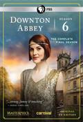Downton Abbey, Season 6 dvd cover