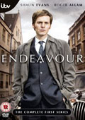 Endeavour: Series 1 dvd cover