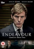 Endeavour: Series 2 dvd cover