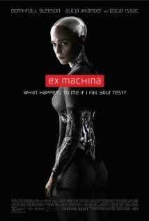 Ex Machina dvd cover
