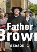Father Brown: Season 1 dvd cover