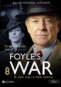Foyle's War: Season 8 dvd cover