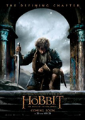 The Hobbit: The Battle of the Five Armies dvd cover