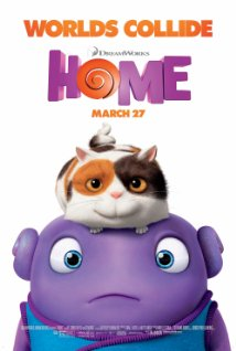 Home (2015) dvd cover