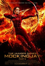 The Hunger Games: Mockingjay, Part 2 dvd cover