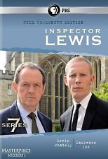 Inspector Lewis: Series 7 dvd cover