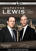 Inspector Lewis: Pilot Through Series 6 dvd cover