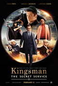 Kingsman: The Secret Service dvd cover