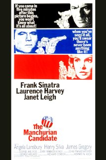 The Manchurian Candidate (1962) dvd cover