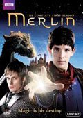 Merlin: Season 1 dvd cover