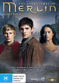 Merlin: Season 4 dvd cover