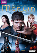 Merlin: Season 5 dvd cover