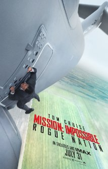 Mission: Impossible - Rogue Nation dvd cover