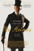 Mr. Holmes dvd cover