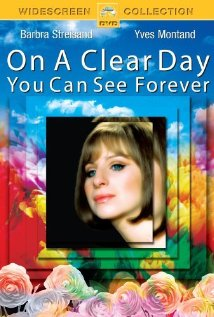 On a Clear Day You Can See Forever dvd cover