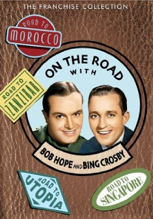 On the Road with Bob Hope and Bing Crosby dvd cover
