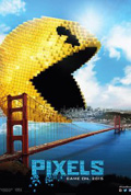 Pixels dvd cover