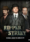 Ripper Street: Season One dvd cover