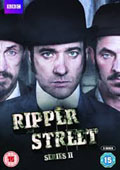 Ripper Street: Season Two dvd cover