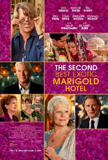 The Second Best Exotic Marigold Hotel dvd cover