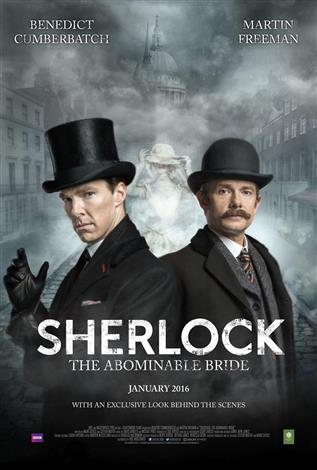 Sherlock: The Abominable Bride dvd cover