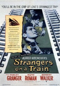 Strangers on a Train dvd cover