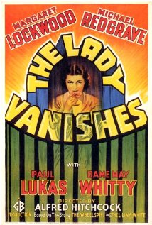 The Lady Vanishes dvd cover