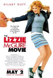 The Lizzie McGuire Movie dvd cover