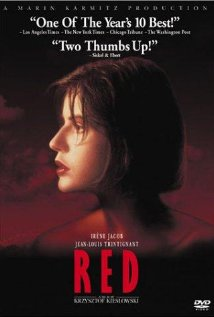 Three Colors: Red dvd cover