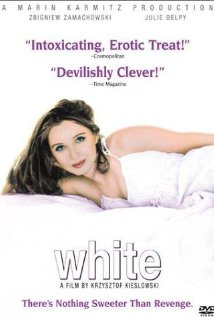 Three Colors: White dvd cover