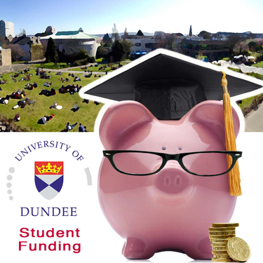 campus and piggy bank