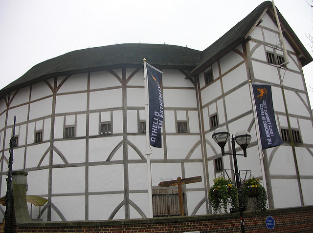 photo of the Globe Theater, London
