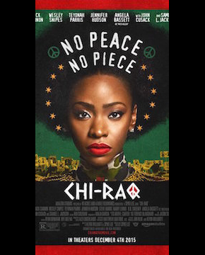 Movie poster for Chiraq -- No Peace, No Piece