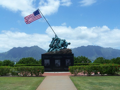 pacific war memorial kaneohe bay marine corps base hawaii