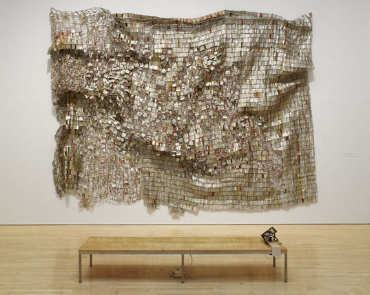 El Anatsui's Ozone Layer at the Brooklyn Museum