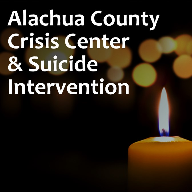 Link: Alachua County Crisis Center & Suicide Intervention