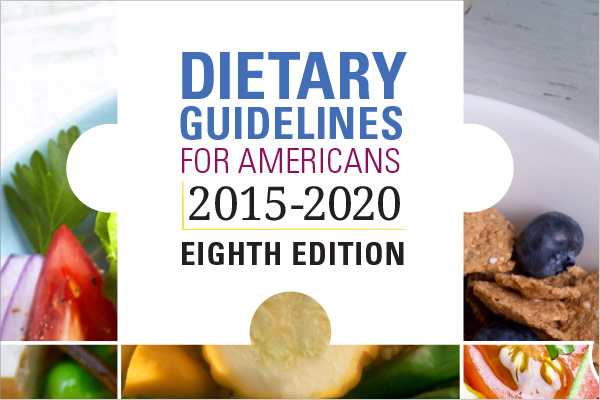 Cover of 2015-2020 Dietary Guidelines for Americans
