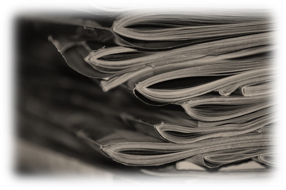 image of stack of magazines