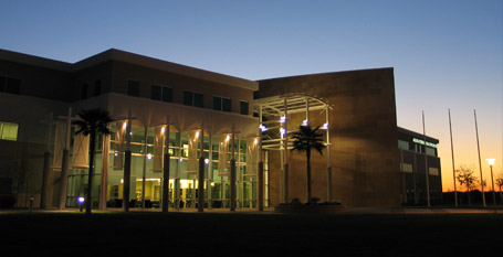Arizona Branch Library at Night