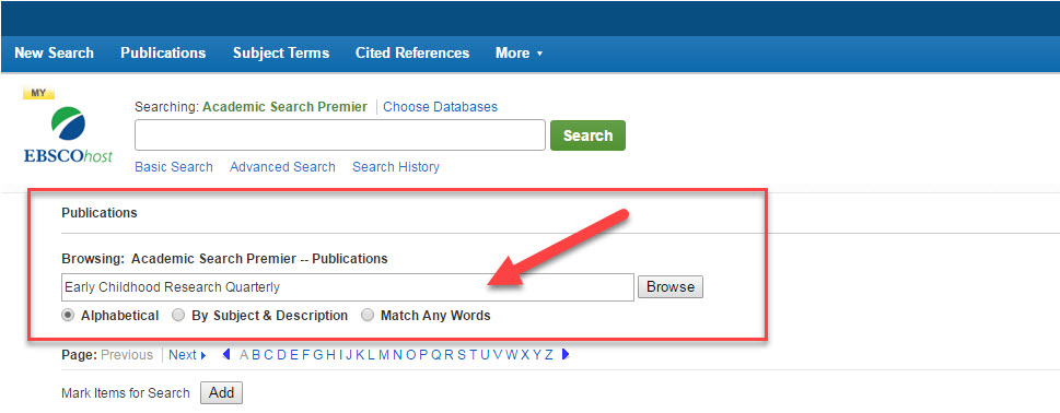 EBSCOhost - Journal and Search Alerts - Save Time on Research