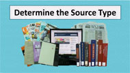 determine the source type tutorial screencapture