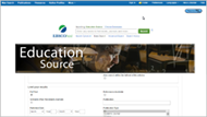 education source database screencapture