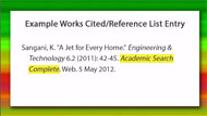 find cited articles with a database tutorial screencapture