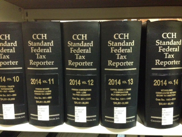 Cch Federal Tax Reporter