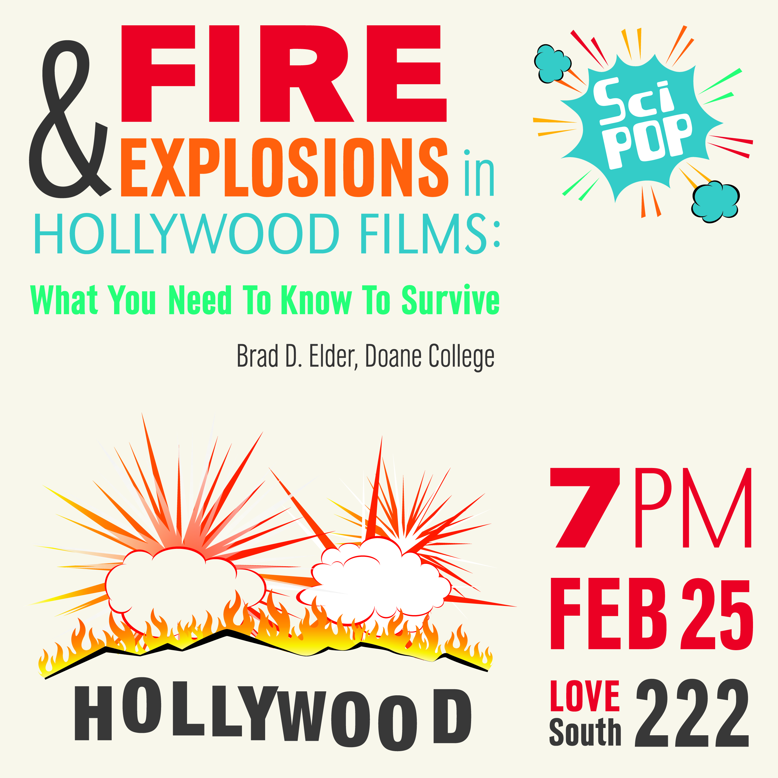 Fire & Explosions in Hollywood Films