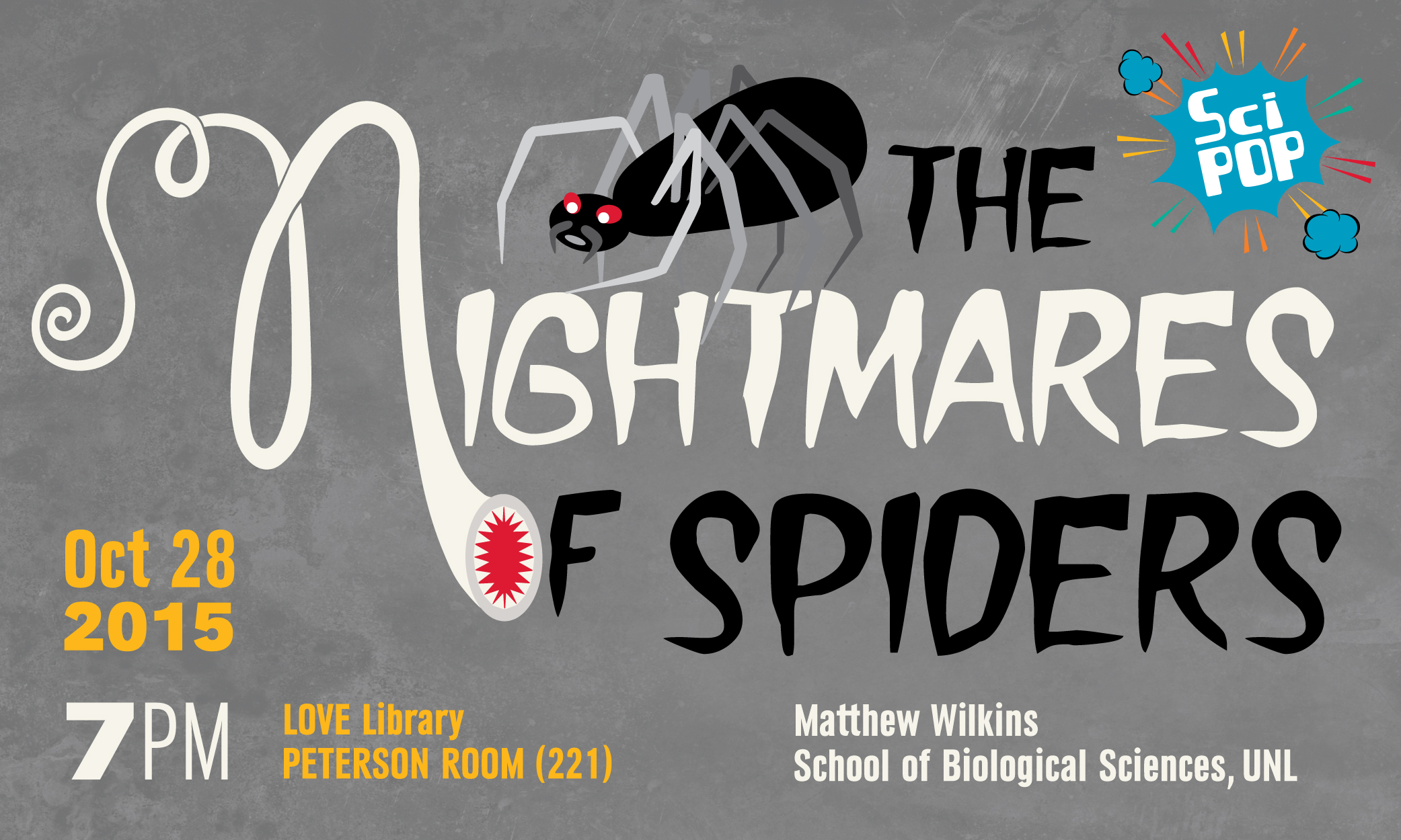 The Nightmares of Spider Promotion Image