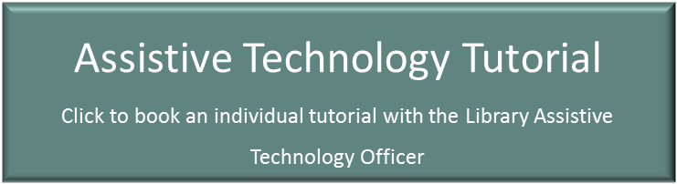 Assistive Technology Tutorials