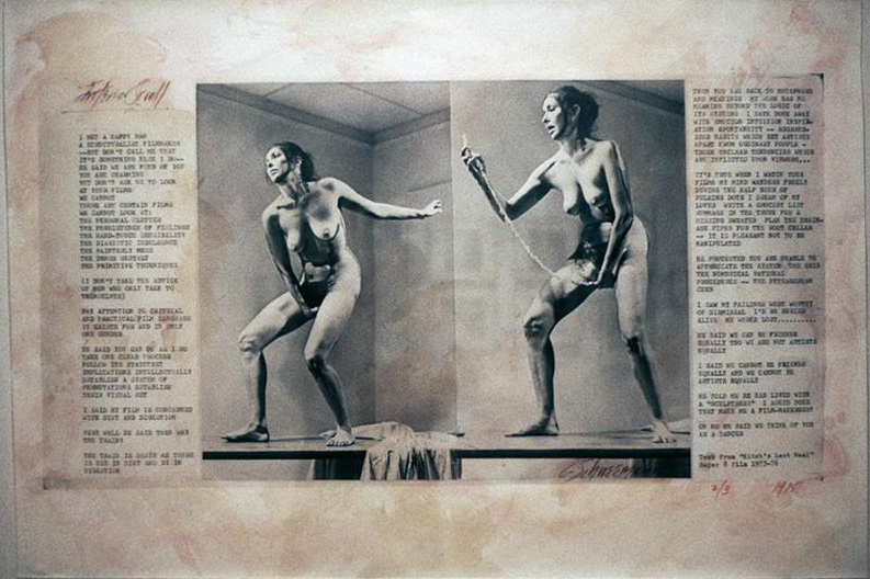 Carolee Schneemann, Interior Scroll (from The Cave Performance),  Documentation Of Performance Art, 1975, Photographer: Larry Qualls,  Contemporary Art ...